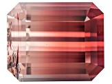 Bi-Color Tourmaline 10.16x8.29mm Emerald Cut 4.55ct