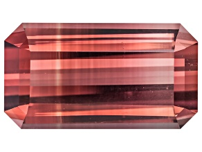 Bi-Color Tourmaline 14.2x7.78mm Emerald Cut 6.20ct