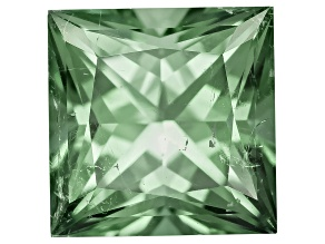 Green Tourmaline 6.04x6.03mm Square Princess Cut 1.16ct