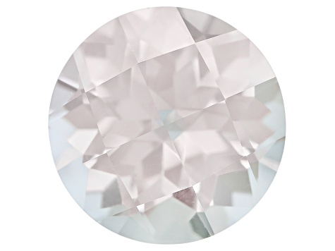 Tourmaline 9.59ct Round Checkerboard Cut 3.50ct