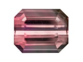 Bi-Color Tourmaline 10.49x8.48mm Emerald Cut 4.61ct