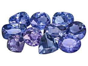 Madagascan Sapphire Set Of Ten