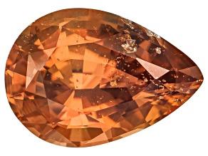 Orange Sapphire 8.85x6.21mm Oval 1.63ct