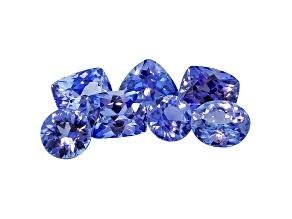 Sapphire Mixed Shape Set 5.22ctw