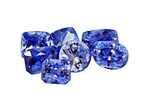 Sapphire Mixed Shape Set 4.31ctw