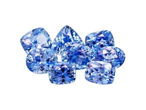 Sapphire Mixed Shape Set 5.56ctw