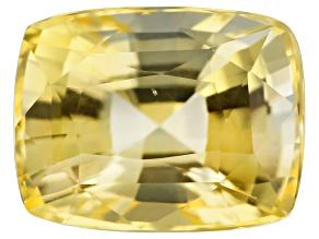 Yellow Sapphire Untreated Gia Rectangular Cushion 2.03ct