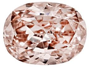 Fancy Brownish Pink Diamond Oval Brilliant Cut .10ct