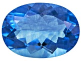 Blue Color Change Fluorite 6.50ct 14x10mm Oval