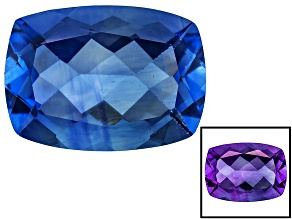 Blue Color Change Fluorite 16.00ct 18x13mm Rectangular Cushion