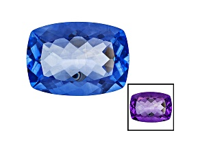 Blue Color Change Fluorite 25.75ct 22x16mm Rectangular Cushion
