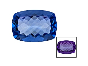 Blue Color Change Fluorite 27.00ct 22x16mm Rectangular Cushion