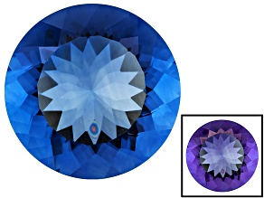 Blue Color Change Fluorite 19.00ct 18mm Round