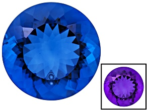 Blue Color Change Fluorite 24.00ct 18mm Round