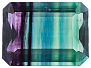 Bi Color Fluorite 20x15mm Rect Oct 26.00ct