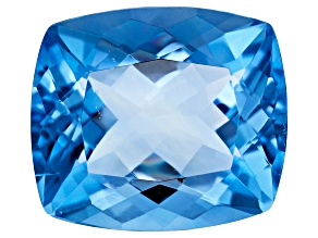 Blue Fluorite Color Change 15.7x13.8mm Rectangular Cushion 13.87ct