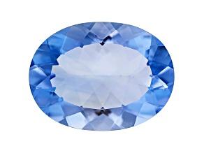 Blue Fluorite 20x15mm Oval 18.00ct