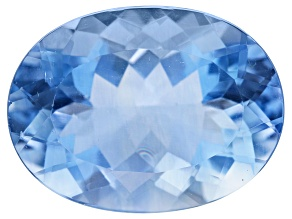 Blue Fluorite 20x15mm Oval 20.00ct