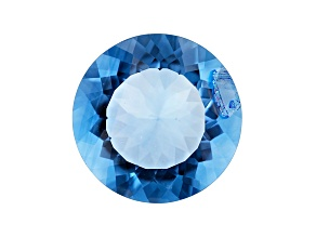 Blue Fluorite Color Change 18mm Round 21.00ct