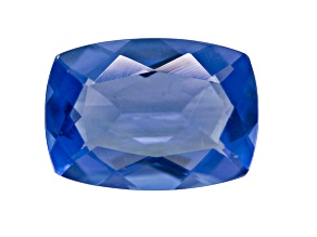 Blue Color Change Fluorite 7.00ct 14x10mm Rectangular Cushion