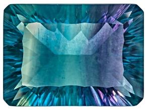 Bi-Color Fluorite mm Varies Rectangular Octagonal Cut 19.00ct