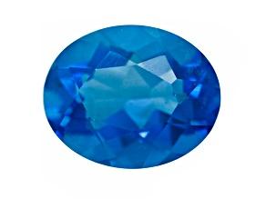 Blue Fluorite Color Change 11x9mm Oval 4.25ct