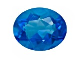 Blue Fluorite Color Change 11x9mm Oval 4.25ct