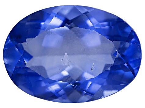 Blue Color Change Fluorite 14x10mm Oval 6.50ctw