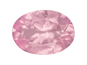 Pink Spinel Fluorescent 7x5mm Oval .75ct