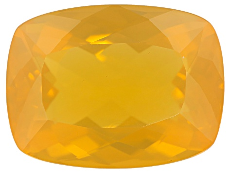 Fire Opal 20x15mm Rect Cushion 14.65ct min wt.