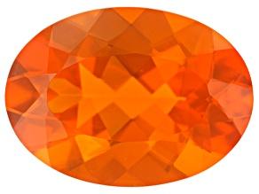 Fire Opal 8.11ct 18x13mm Oval