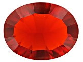 Mexican Cherry Fire Opal 9x7mm Oval 1.00ct