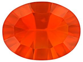 Fire Opal 9x7mm Oval 1.00ct