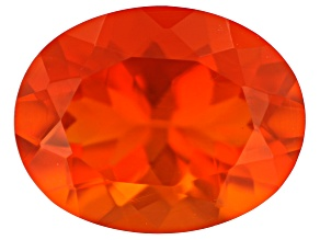 Mexican Fire Opal 9x7mm Oval 1.20ct