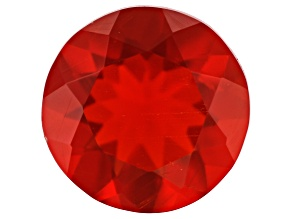 Mexican Cherry Fire Opal minimum 0.75ct 7mm Round