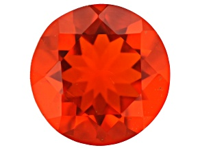 Mexican Fire Opal 7mm Round 0.75ct