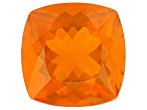 Fire Opal 17mm Square Cushion 14.98ct