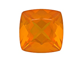 Fire Opal 8mm Square Cushion 1.35ct