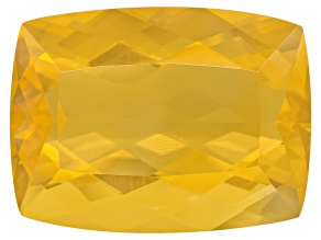 Yellow Fire Opal 20x15mm Rectangular Cushion 13.00ct