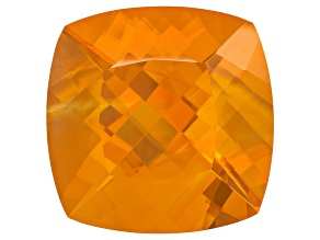 Brasa Color Fire Opal 19mm Square Cushion 17.50ct