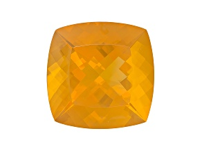 Fire Opal 27.5mm Square Cushion 49.07ct