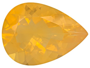 Honey Color Fire Opal 18x13mm Pear Shape 7.00ct