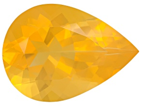 Honey Color Fire Opal Pear Shape 7.00ct