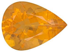 Honey Color Fire Opal Pear Shape 9.00ct