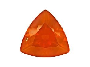 Brasa Color Fire Opal 13mm Trillion 4.00ct