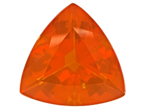 Brasa Color Fire Opal 15mm Trillion 6.50ct