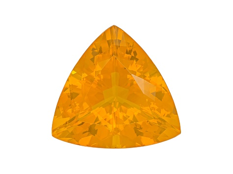 Honey Color Fire Opal 21.5mm Trillion 18.61ct