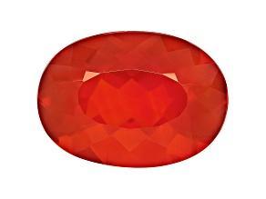 Brasa Color Fire Opal 18x13mm Oval 8.00ct