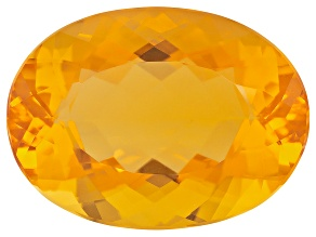 Honey Color Fire Opal 22x16mm Oval 16.00ct