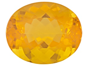 Honey Color Fire Opal 23x19mm Oval 25.00ct